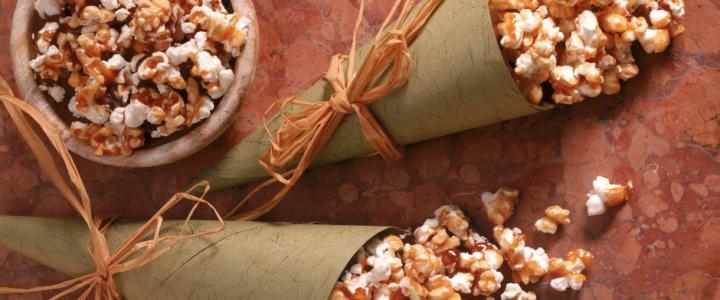 Kokos-Vanille Popcorn